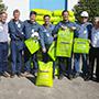 2010: Primeiro lote de Polietileno Verde fabricado na planta de Eteno Verde em Triunfo - RS