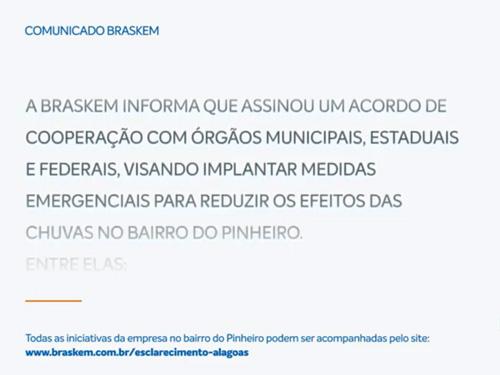 Comunicado Braskem