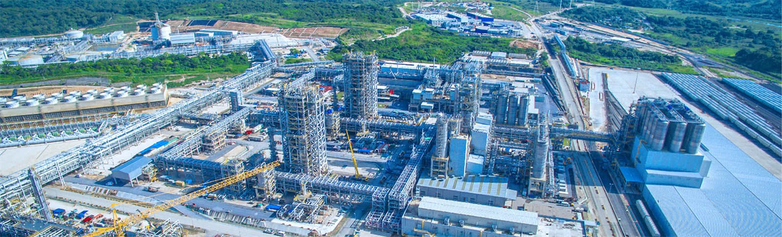 Learn about the most important events of the construction of our petrochemical complex