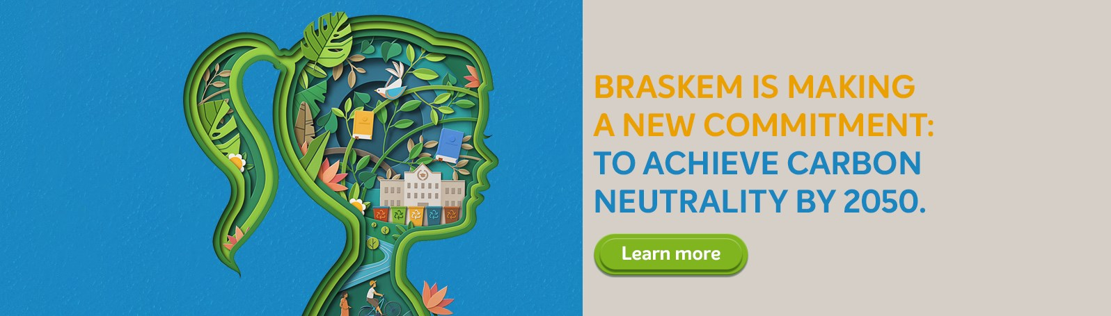 Braskem Affirms Commitment to Circular Economy and to Achieve Carbon Neutrality by 2050